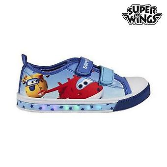 Casual Shoes with LEDs Super Wings 72448
