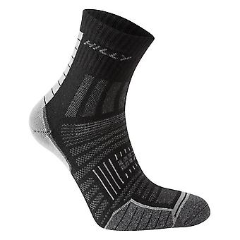 Hilly Twin Skin Anklet Socks - Black/Grey Marl