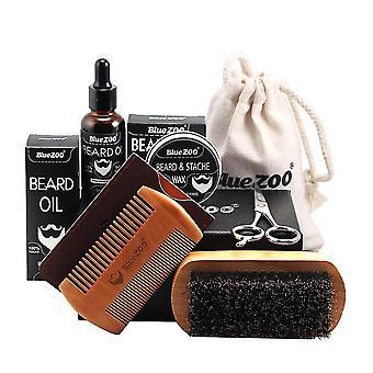 Haarverzorging kits mannen baard snor groeiende vorm en hydraterende kit