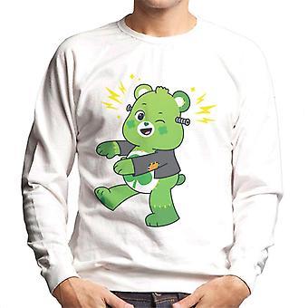 Pflege Bären UTM Halloween Viel Glück Bär Frankenstein Herren Sweatshirt
