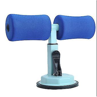腹筋エイズ ホームフィットネス機器、吸盤型怠惰な腹部多機能腹部(ダークブルー)