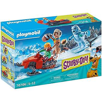 Multicolour Scooby-Doo! Adventure With Snow Ghost Playset