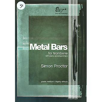 Metal Bars Bass Clef (Trombone)
