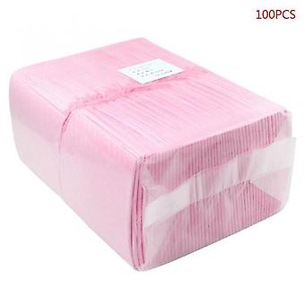 100pcs/pack Baby Disposable Changing Pad Infant Breathable Waterproof Diapers 24be