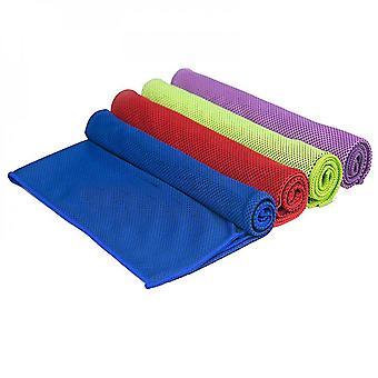 Cooling Towel,  Towels Microfiber Chilly Head Band Bandana Neck Wrap Sky Blue