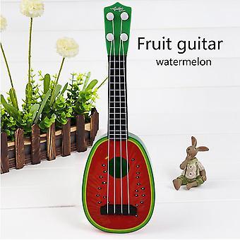 32cm 4 String Mini Fruit Guitar Ukulele Educational Musical Instrument Toys