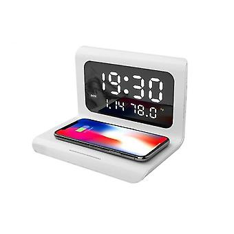 10w Wireless Charger Pad Led Display Réveil