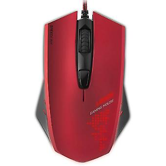 SPEEDLINK Ledos 3000dpi optische Gaming Mouse Red (SL-6393-RD)