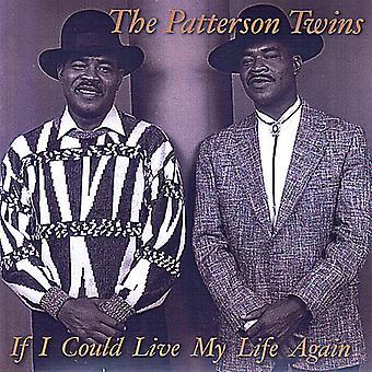 Gemelos de Patterson - si pudiera vivir mi vida otra vez [CD] USA importar