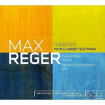 M. Reger - Reger: Sonates Pour Clarinette Et Piano [CD] USA import