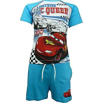 Disney Carsning McQueen T-shirt Boys & Shorts Set