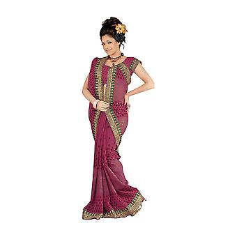 Banni Designer Party Wear Georgette Sari  Saree