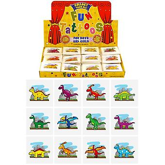 Box of 576 Mini Dinosaur Tattoos