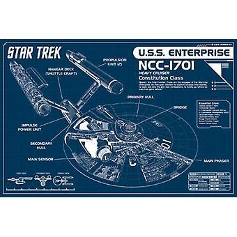 Star Trek - Enterprise Poster Poster Print