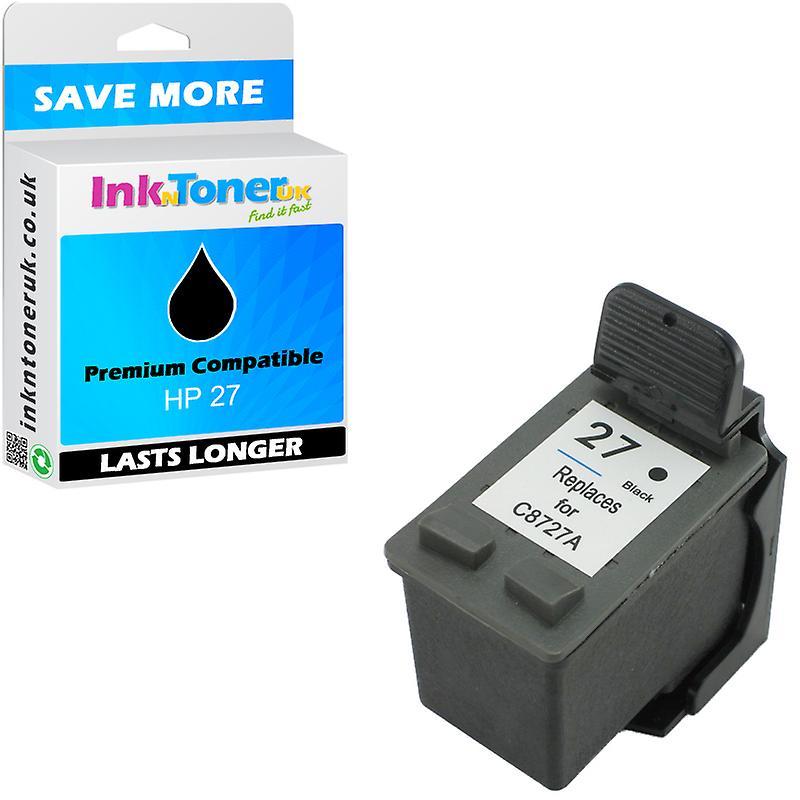 Cartuccia HP 27 Black C8727AE compatibile per HP PSC 2100