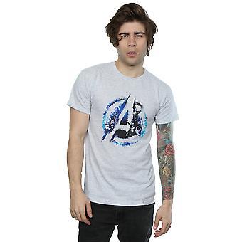 Les Vengeurs Marvel masculine évasée Logo T-Shirt
