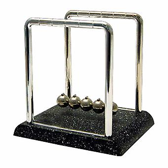 Small Newton's Cradle w/ Marble Look Base