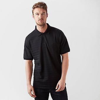 New Brasher Men's Travel Casual Polo Shirt Black