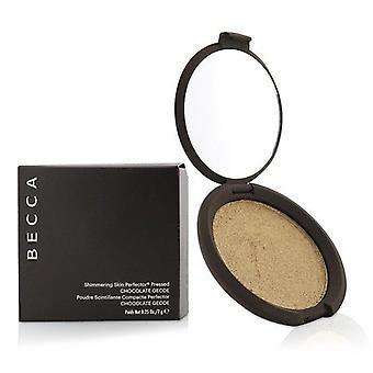Becca Shimmering Skin Perfector Pressed Powder - # Chocolate Geode - 7g/0.25oz