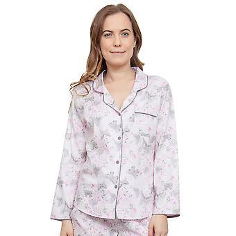 Cyberjammies 3767 naisten Sienna vaaleanpunainen kukka Pajama Pyjama toppi