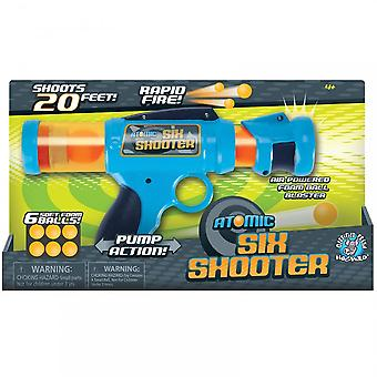 Cheatwell Games Atomic Six Shooter Power Popper
