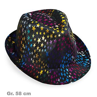 Trilby ster starry sky blue hat
