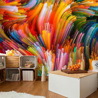 Fototapetti - Rainbow Waves