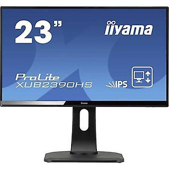 Iiyama ProLite XUB2390HS-B1 LED 58,4 cm (23 tommer) EEC A (A+++ - D) 1920 x 1080 p Full HD 5 ms DVI, HDMI™, VGA AH-IPS LED