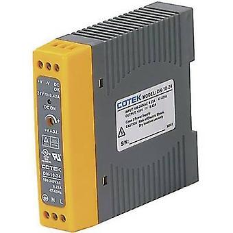 Cotek DN 20-12 Rail mounted PSU (DIN) 12 V DC 1.7 A 20.4 W 1 x