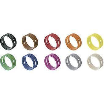 Anillo Neutrik XXR-SET/MIX ID Negro, Marrón, Rojo, Naranja, Amarillo, Verde, Azul, Violeta, Gris, Blanco 10 uds(s)