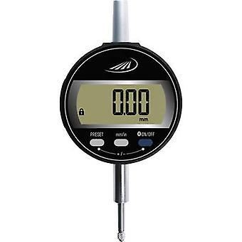 HELIOS PREISSER 1722 502 Dial gauge + LCD 12.5 mm Reading: 0.01 mm