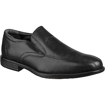 Grosvenor Mens Balfour Twin Gusset Lightweight Slip On Shoes