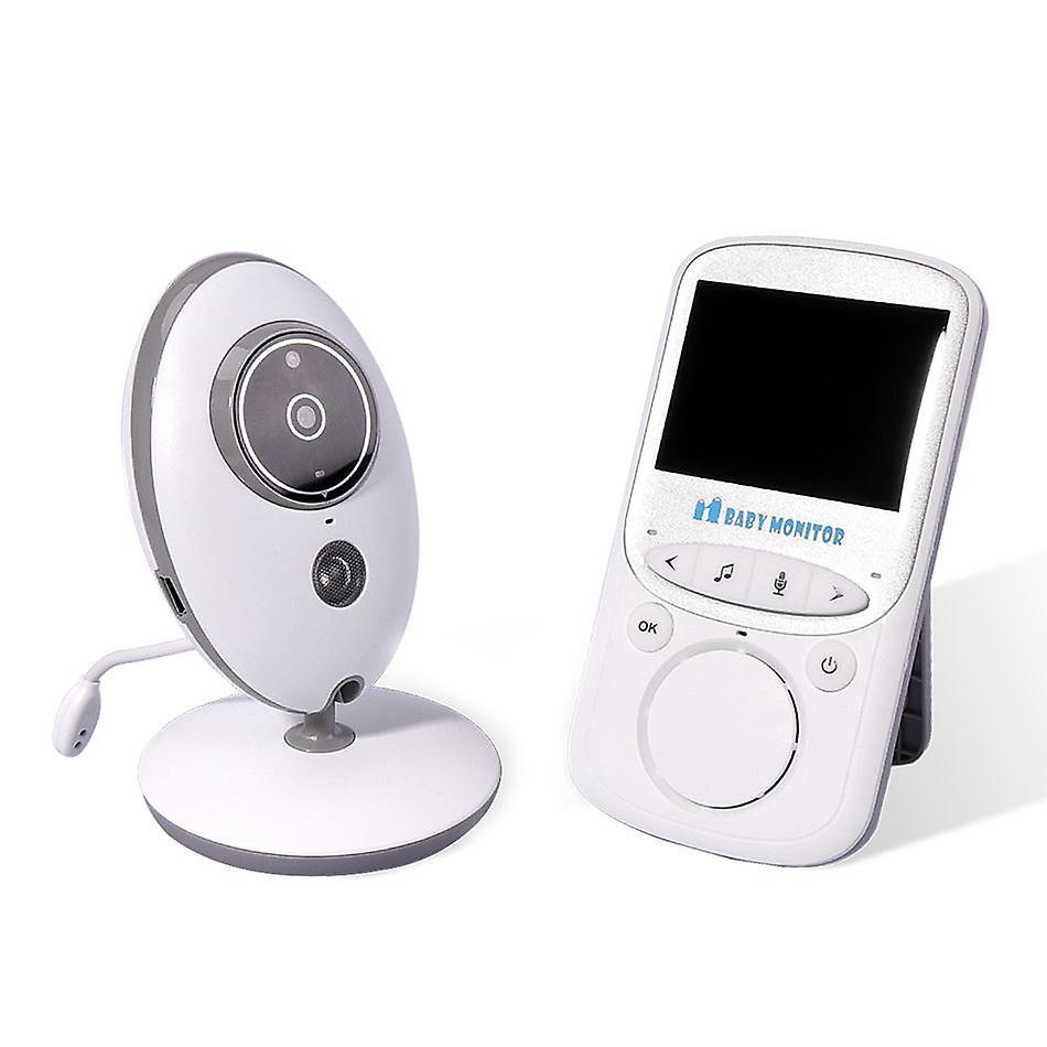 Mega Motion Babyphone Wireless Camera - Baby Monitor ECO 24H LCD Screen Listening Baby Night Vision