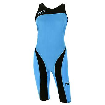 MP Womens Xpresso W Knee Swimming Racesuit Ladies Water Pool Sports Swimsuit