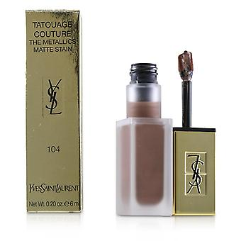 Yves Saint Laurent Tatouage Couture os Metallics - # 104 Rose Gold Riot - 6ml/0,2 oz