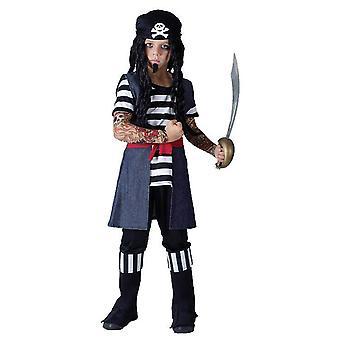 タトゥー海賊少年媒体。