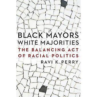 Maires de noir - blanc majorités - la loi de l'équilibrage de la politique raciale