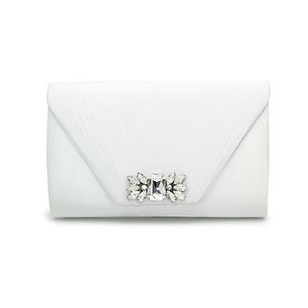Lunar Amalfi Pleated Clutch Bag