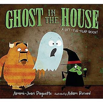Spöke i huset: en hiss-The-Flap-bok