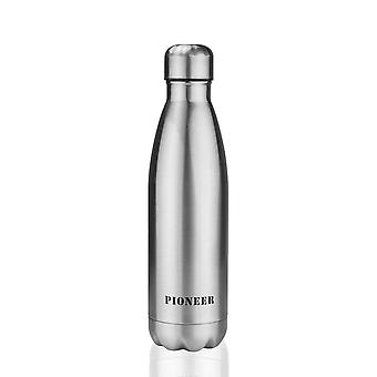 Pioneer 500ml Stainless Steel Vacuum Insulated Hot/Cold Leakproof Bottle