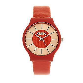 Crayo Trinity Unisex Watch - Rouge