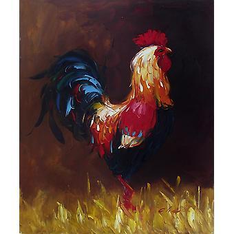 ، اللوحة الزيتية على قماش، 50x60 سم