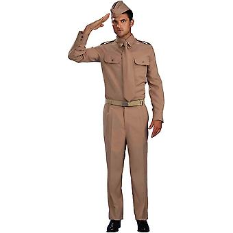 Warld War Ll Style Costume For Adults