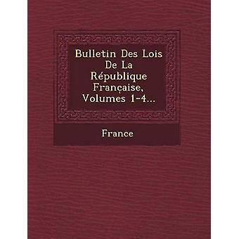 Bulletin Des Lois de La Republique Franc Aise Volumes 14... by France
