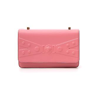 Versace Dbfg681dv2afksaot Donne's Borsa a tracolla in pelle rosa