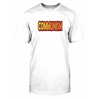 Kommunisme - politiske Mens T-skjorte