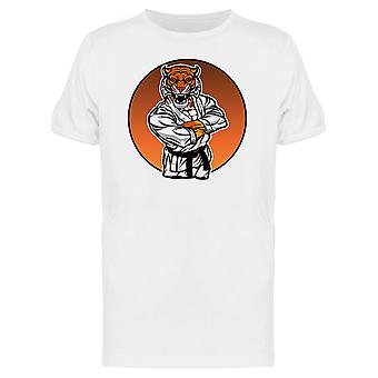 Martial Arts Tiger Graphic Tee Men's -Image by Shutterstock