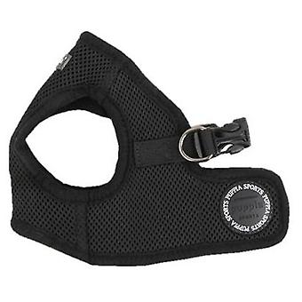 Puppia Black Soft Vest Harness B (Dogs , Collars, Leads and Harnesses , Harnesses)