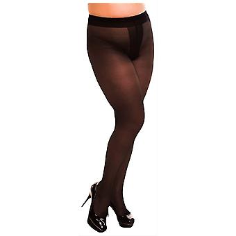 Glamory Ouvert 20 Denier Sheer Tights - Black
