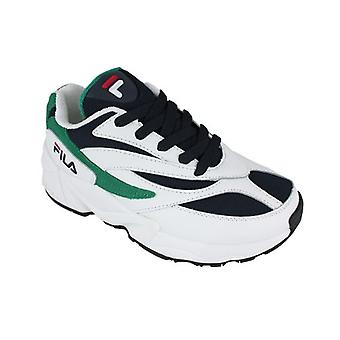 Rij casual schoenen Fila V94M low wmn wit/Navy/Shady glade 0000149140_0